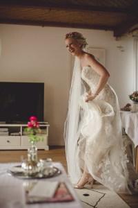 Hochzeitsreportage Schloss Köngen Hochzeit Fotografin Michaela Klose Kirche Getting Ready