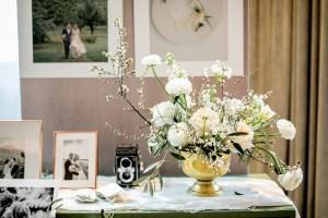 Centerpiece Gesteck Wedding Hochzeitstisch