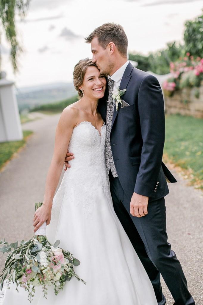 glücklcihes Brautpaar