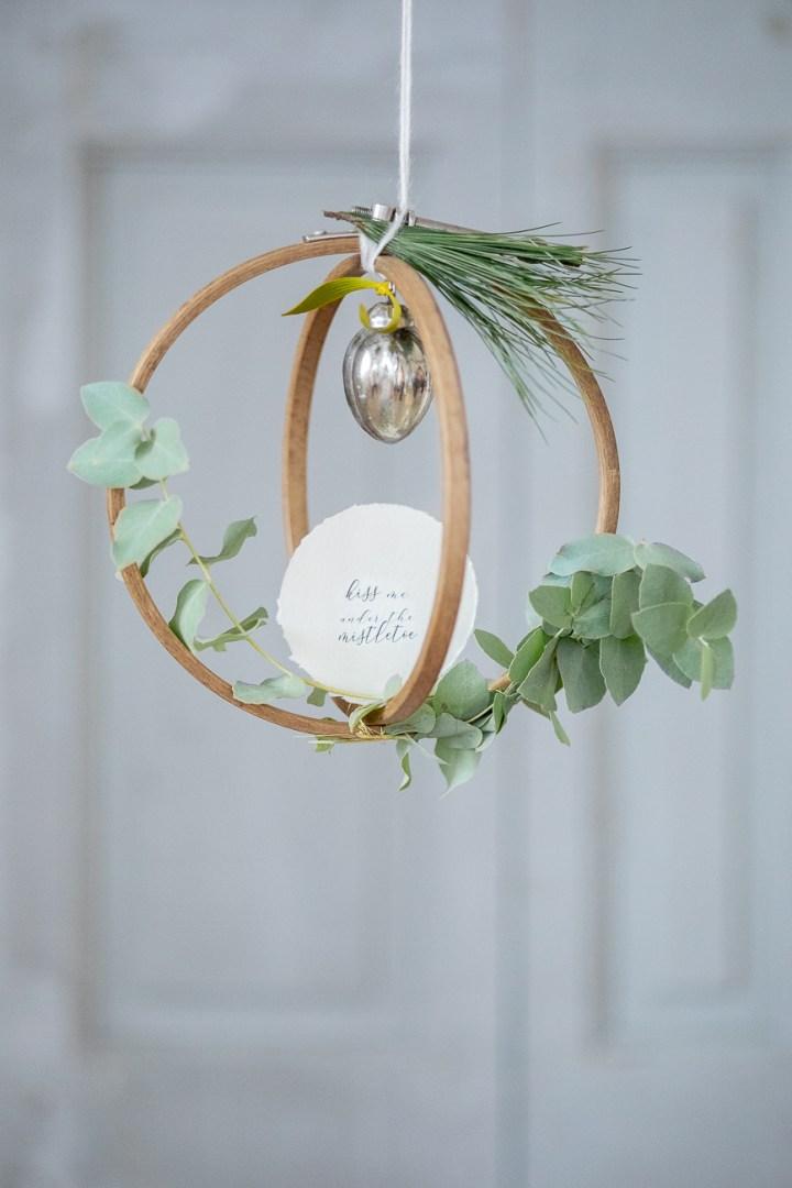 DIY // weihnachtliche Dekoration