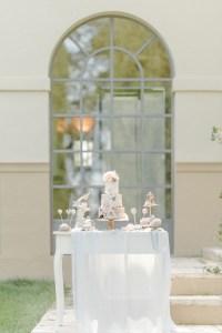 Sweet Table outdoor Hochzeit freie Trauung