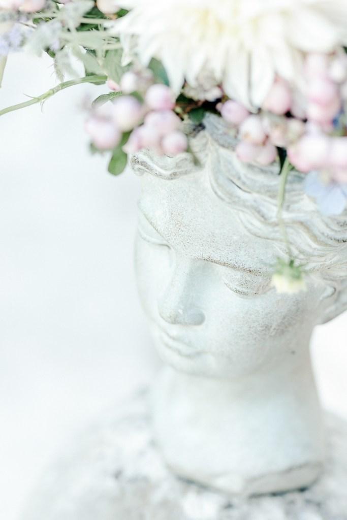Floraler Kopf