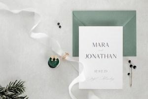Safe the Date Einladung zur Hochzeit
