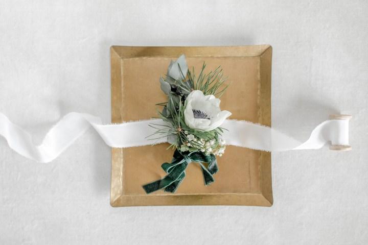 Ansteckblume Fine Art Hochzeit