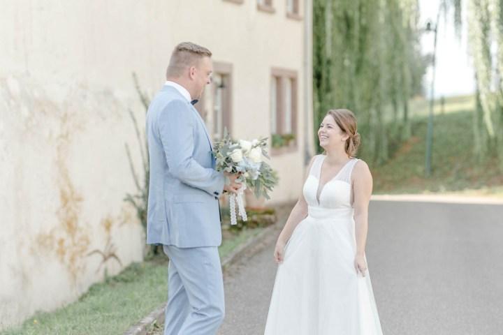 Portraitshooting zur Hochzeit First look zur Hochzeit