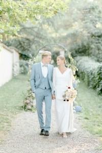 Freie Trauung Fine Art Hochzeit Traubogen Brautpaar