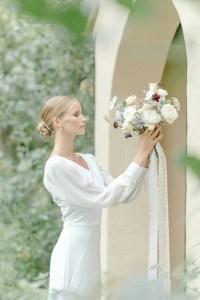 Brautportrait Hochzeit Pfalz Hochzeitsfotograf Hochzeitsshooting Brautstrauß