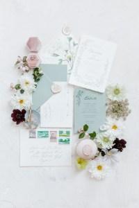 Fine Art Hochzeit Papeterie Kalligrafie Bonjour Paper