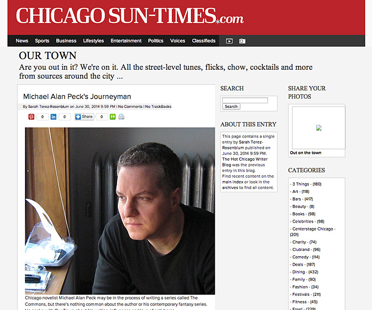 Journeyman Sun-Times Our Town