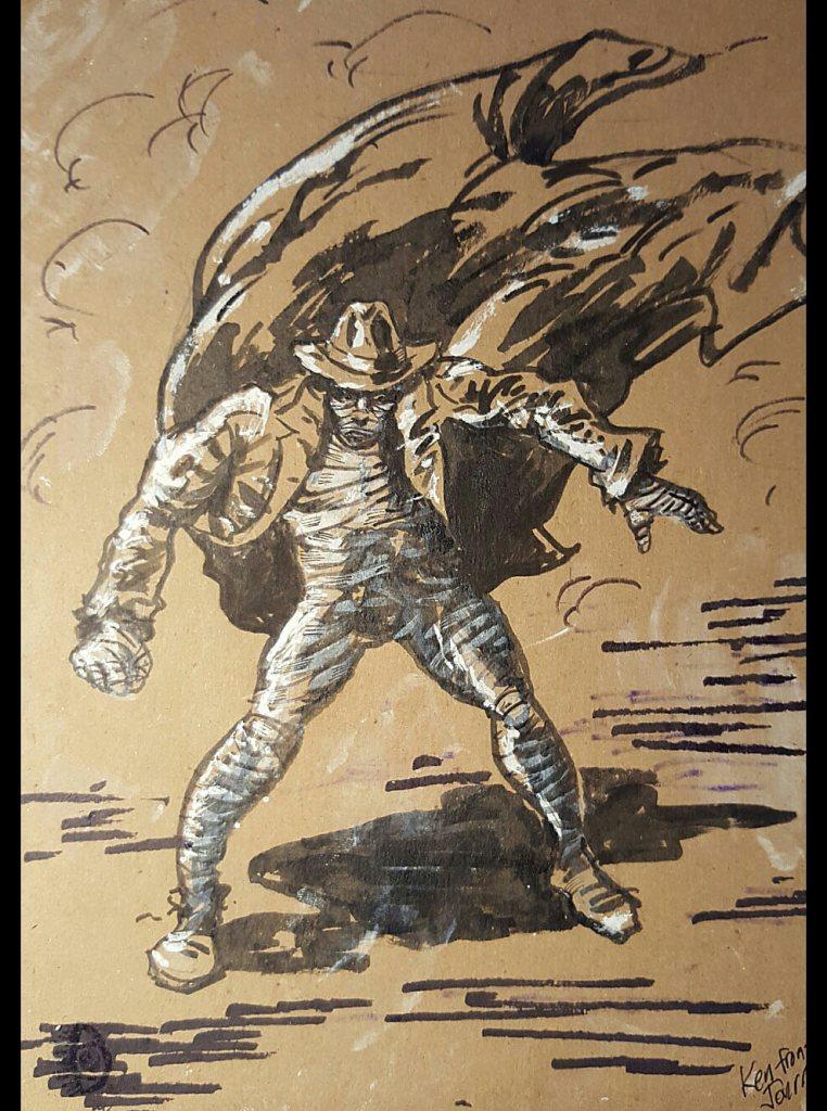 Concept Art: Ken the Mummy