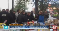 When You Get Arrested For Feeding The Homeless