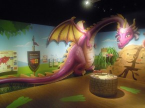 Dragon at the Singapore Philatelic Museum