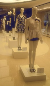 Fashion Display in Mall