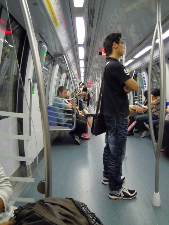 Mass Rapid Transportation in Singapore is clean and well organized