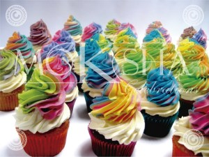 Cupcakes is a specialty of Moksha