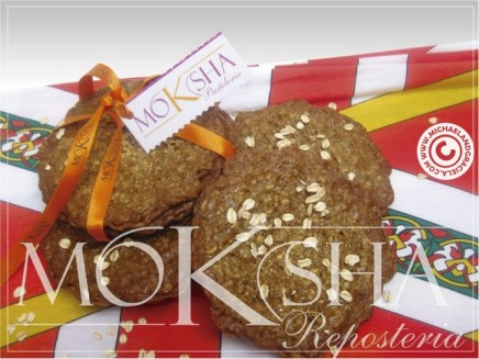 Michael's favorite of all Moksha cookies