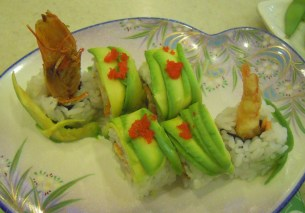 Sushi in Singapore is very well priced and very tasty