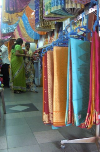 Little India's fabric stores are full of beautiful pieces.