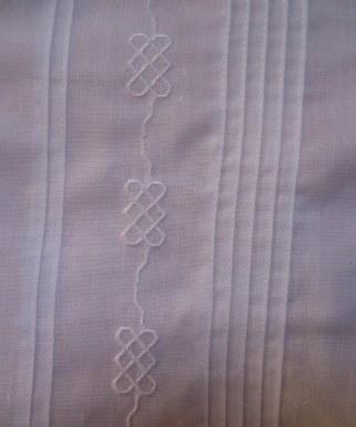 Pleats and design on this impressive guayabera