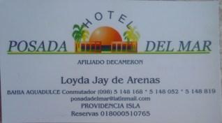 26 Hotel card
