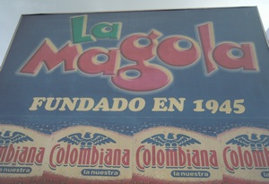 La Magola outside sign 300 x 205