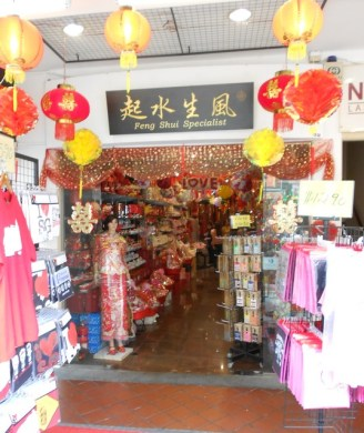 Of course there is a Feng Shui specialty store in Chinatown