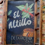 El Altillo sign 150 sq