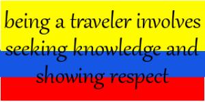 being a traveler