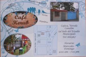 Map of location of Café Kerub