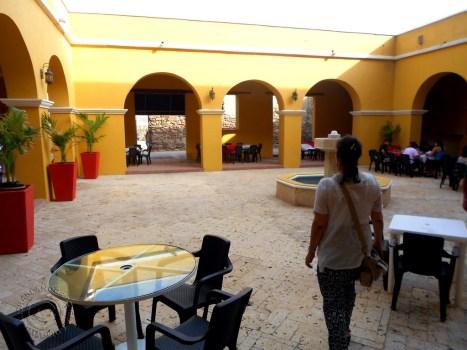 Courtyard of Castillo de Salgar