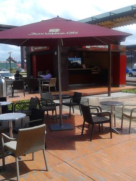 Juan Valdez Bazaar open area