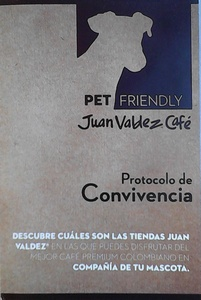 Juan Valdez Bazaar pet friendly