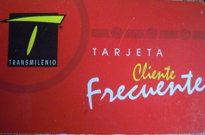 Red Transmilenio Card
