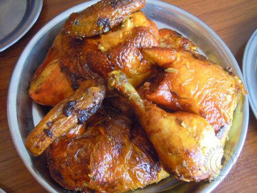 Roasted Chicken at Brasa Express