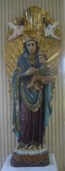 Virgin Mary Statue with Jesus