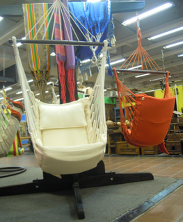 Our friend purchased some of these hanging chairs - very comfortable