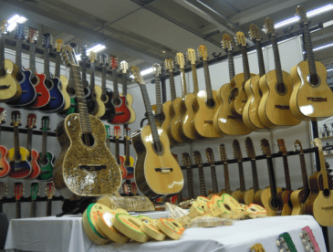 These guitars have great action as well as looking good.