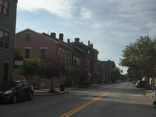 MainStrasse Village early Saturday morning.
