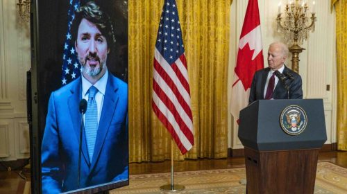 Biden-Trudeau 'Roadmap' Commits to Fight 'Systemic Racism,' Climate Change; Excludes Keystone XL