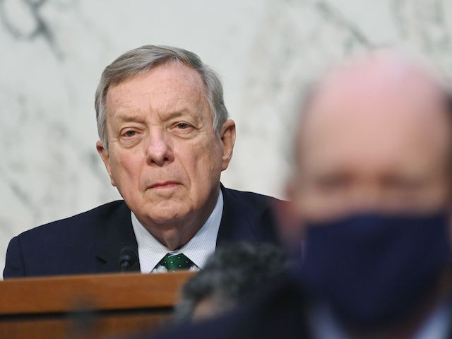 Durbin: 'Insurrectionists' Who Stormed Capitol Might As Well Have Worn 'White Robes and Hoods'