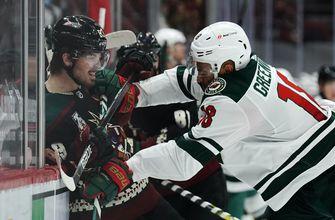 Kahkonen stops 24 shots in Wild's 5-1 win over Coyotes
