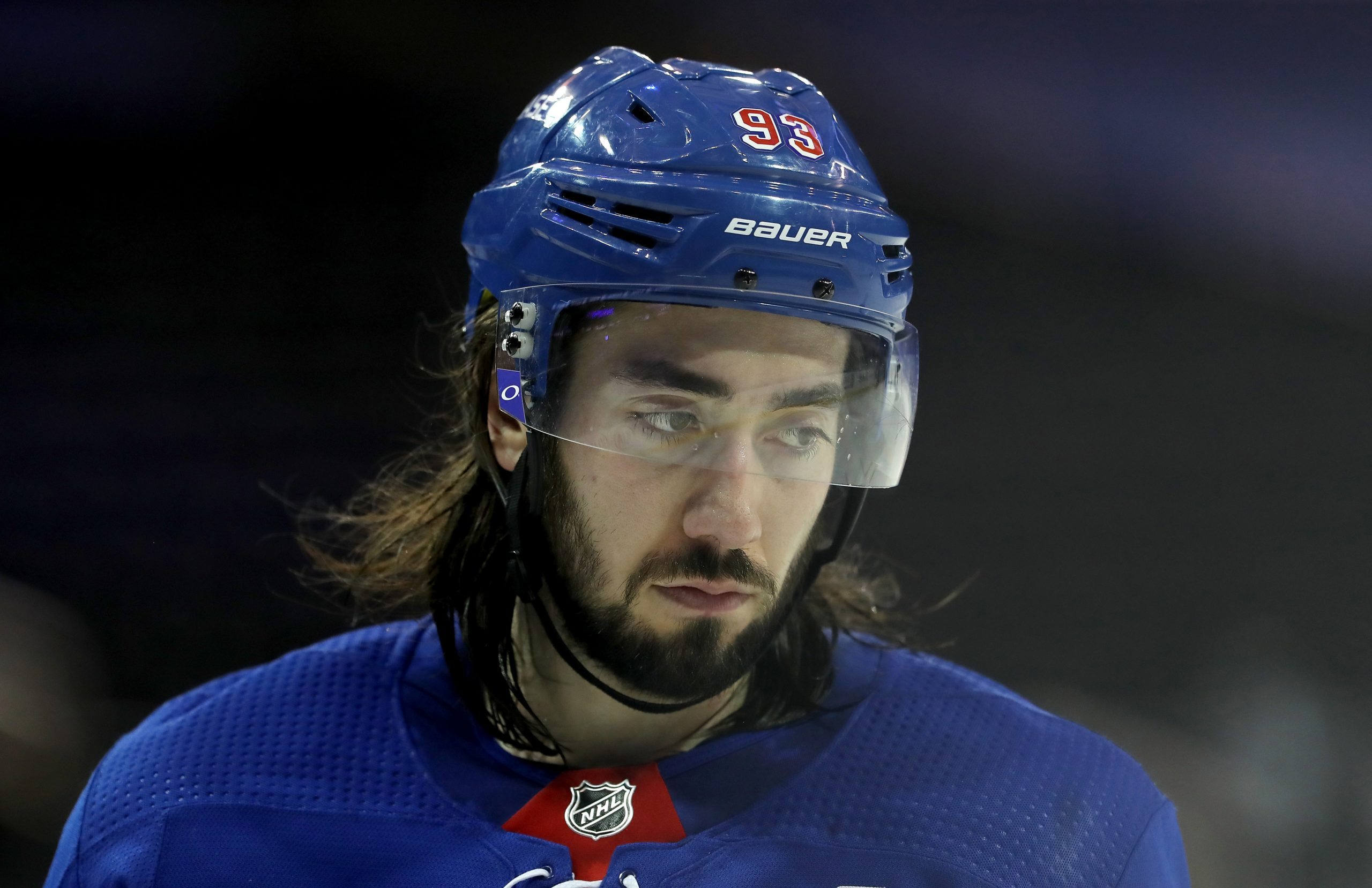 Rangers coach David Quinn downplays Mika Zibanejad benching