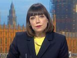 Sky News political editor Beth Rigby is back on air after being suspended