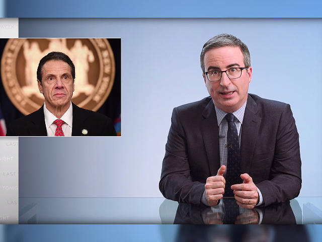 Watch: HBO's John Oliver Compares Andrew Cuomo Nursing Home Death Scandal to 'Authoritarian Regime Like North Korea'
