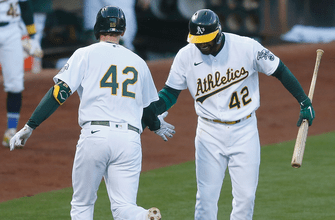 Athletics dominate Tigers for the fifth-consecutive win, 8-4