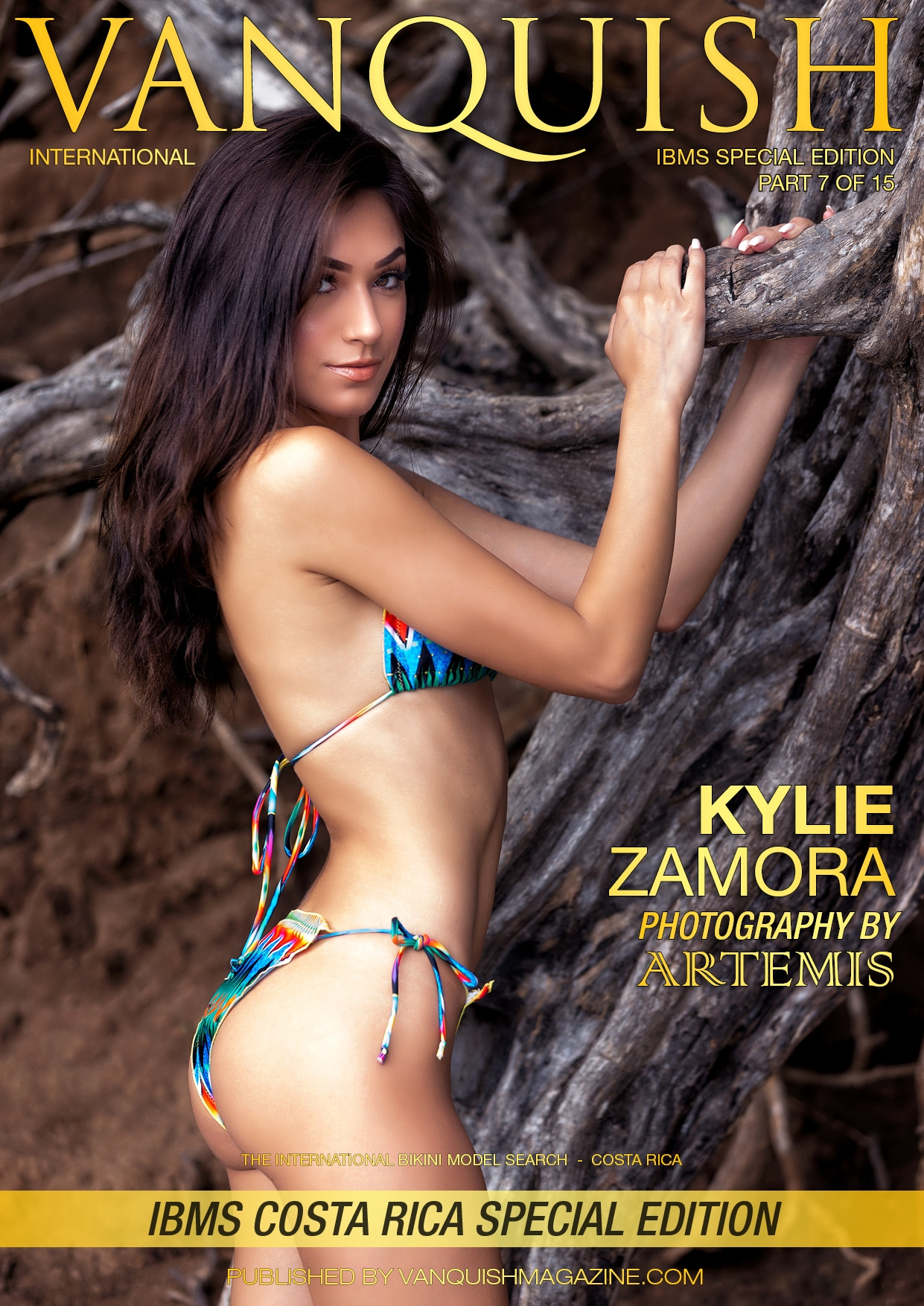 ***Vanquish Cover*** Featuring Stunning Kylie Zamora