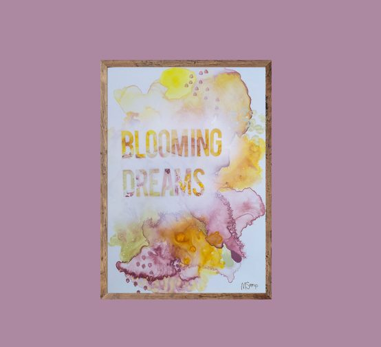 Blooming dreams. Original art.
