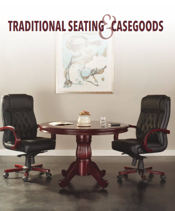 new traditional seating and casegoods