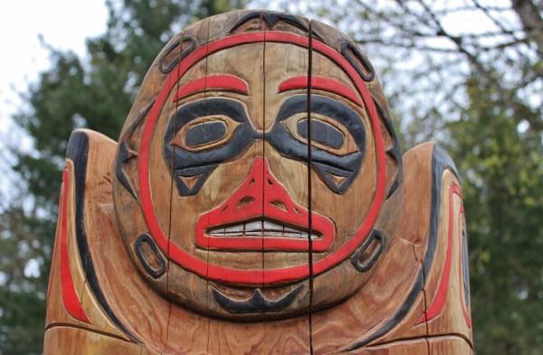 Mother Bear - Totem Pole