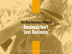 The New Business Mindset: Going against the grain to find success in building your business.